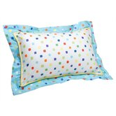 Reef Printed White Decorative Pillow