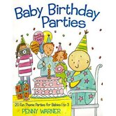 Baby Birthday Parties Book