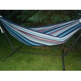 Brazilian Single Fabric Hammock with Stand
