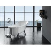 Clawfoot 66'' Acrylic Bathtub