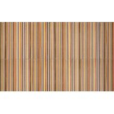 Aquarelle 12&quot; x 18&quot; Ceramic Wall Tile in Red Insert Stripes