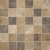"Walnut Canyon 2"" x 2"" Decorative Square Mosaic in Multi"