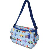 Olive Kids Trains, Planes and Trucks Lunch Cooler