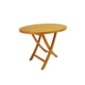 Bahama 35&quot; Round Bistro Folding Table