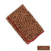 Baby Blanket in Leopard Print