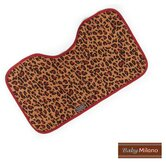Baby Burp Cloth in Leopard Print