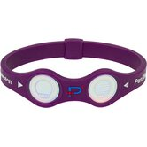 Positive Energy Band in Lavender with Silver Hologram