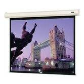 83447 Cosmopolitan Electrol Motorized Projection Screen - 45 x 80""