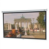 "High Contrast Matte White Model B Manual Screen - 84"" x 84"" AV Format"