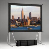 35501 Fast-Fold Standard Truss Projection Screen - 16 x 21'