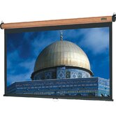 "Veneer Model B Medium Oak Projection Screen - High Power - 60"" x 80"" Video Format"
