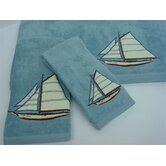 Fair Harbor 3-Piece Decorative Towel Set