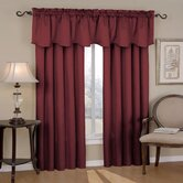 Canova Blackout Drapes and Valance Set in Burgundy
