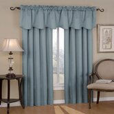 Canova Blackout Drapes and Valance Set in River Blue