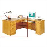 Waterfall Executive 29&quot; H x 66&quot; W Left Desk Return