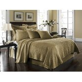 King Charles Matelasse Coverlet Bedding Collection in Birch