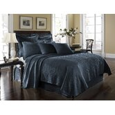 King Charles Matelasse Coverlet Bedding Collection in Provincial Blue