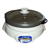 Shabu Shabu and BBQ Roaster with Lid