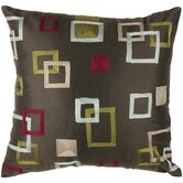 "T-2755 18"" Decorative Pillow in Brown"