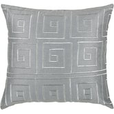 "T-3441 18"" Decorative Pillow in Grey"