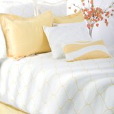 Sutton Bedding Set in Yellow / White