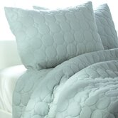 Solid Quilt 3 Piece Quilt Set in Spa Blue