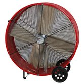 24&quot; Barrel Fan in Yellow