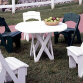 Harvest Round Picnic Table