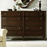Avalon Heights Straight Front 6 Drawer Dresser