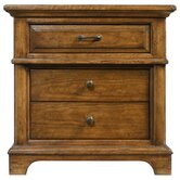 The Classic Portfolio Bungalow 3 Drawer Nightstand