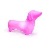 Dachshund Dog Pet Lamp in Hot Pink