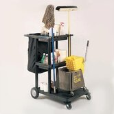 Three Shelf Janitor Cart
