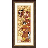 The Fulfillment (Die Erfullung) Detail Framed Print by Gustav Klimt
