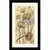 Fluidity I Framed Print by Shirley Novak