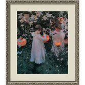Carnation, Lily, Lily, Rose, c. 1886 Framed Print Wall Art