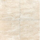 "Torre Venato 20"" x 20"" Glazed Porcelain Field Tile in Crema"