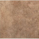 Vallano 18&quot; x 18&quot; Glazed Field Tile in Milk Chocolate