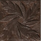 "Renaissance 4"" x 4"" Messina Accent Tile in Rust Iron"