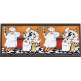 "Chefs A Cookin Wall Art - 10.25"" x 25"""