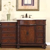 55.5&quot; Butler Single Bathroom Vanity Set