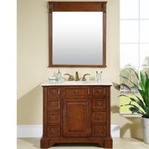 Jennifer 40&quot; Single Sink Bathroom Vanity Cabinet