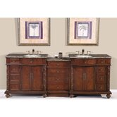 "Victoria 90"" Double Sink Bathroom Vanity Cabinet"