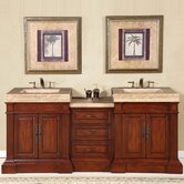 "Stanton 83"" Double Sink Bathroom Vanity Cabinet"