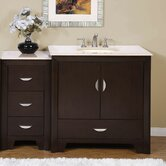 Ilene 54&quot; Single Sink Bathroom Vanity Cabinet