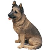 Original Size German Shepherd Sculpture
