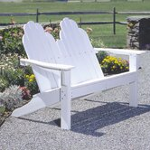 Classic Adirondack Garden Bench