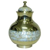 Mother of Pearl Youth Urn
