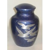 Soaring Home Youth Urn in Blue