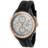 Women's Specialty Chronograph Polyurethane Round Watch