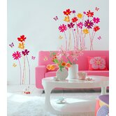 Euro Flower Meadow Wall Decals